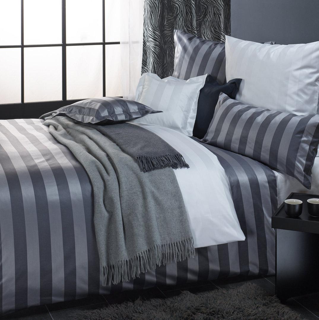 curt bauer como mako brokat streifen damast bettw sche 220x240. Black Bedroom Furniture Sets. Home Design Ideas
