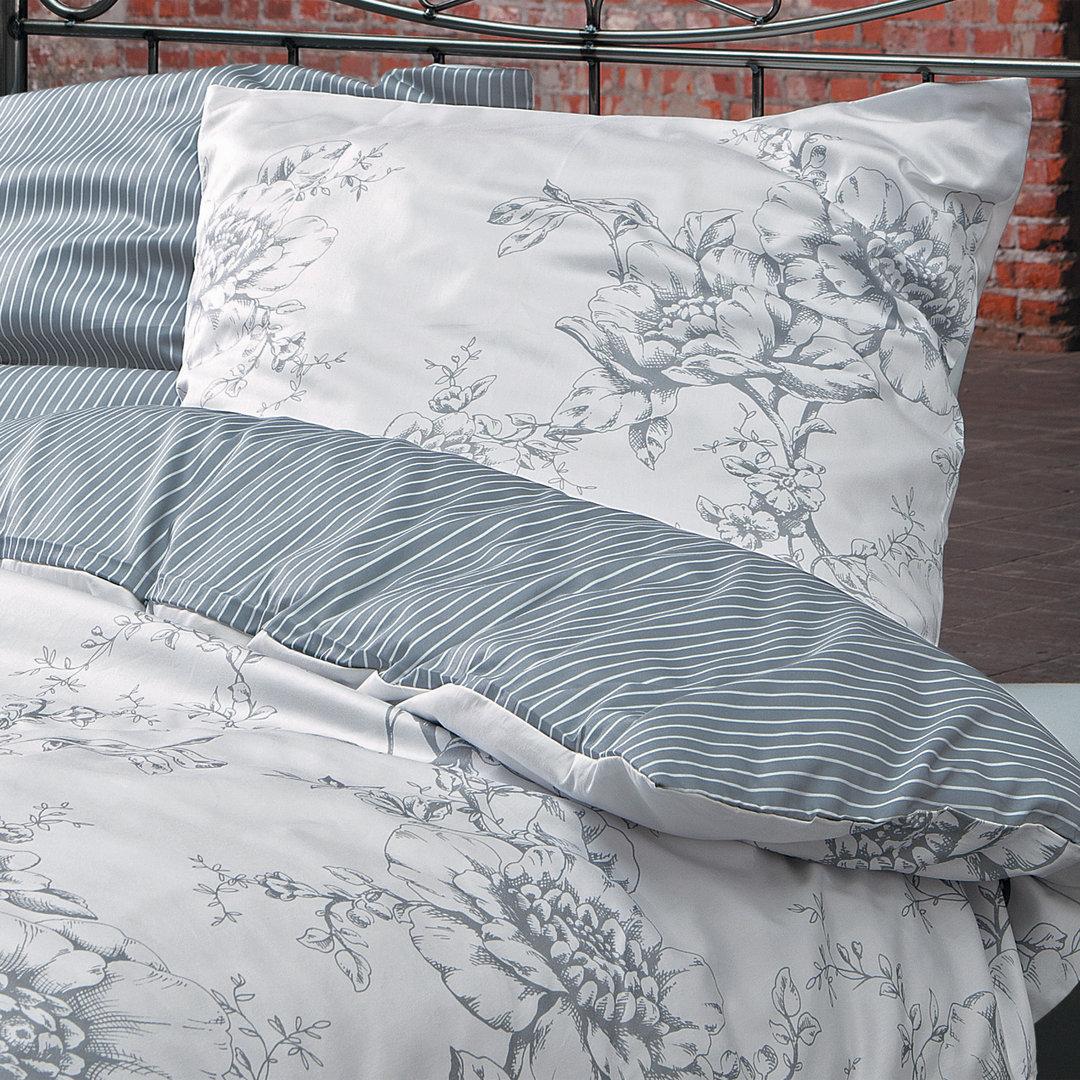 ibena zeitgeist mako satin bettw sche 810 grau boudoir. Black Bedroom Furniture Sets. Home Design Ideas