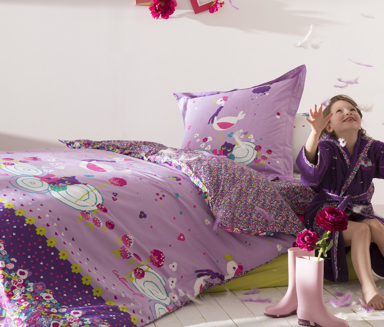 frottier bettw sche kinder conferentieproeftuinen. Black Bedroom Furniture Sets. Home Design Ideas
