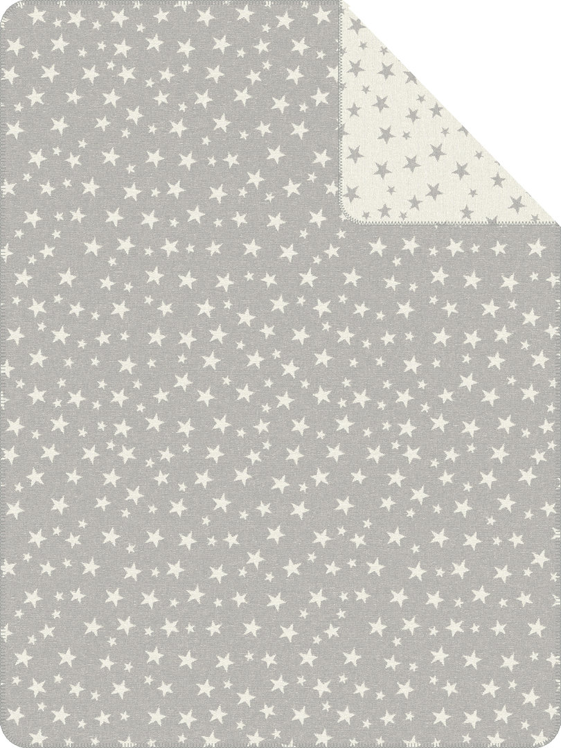 Decke Sterne s oliver jacquard decke sterne boudoir