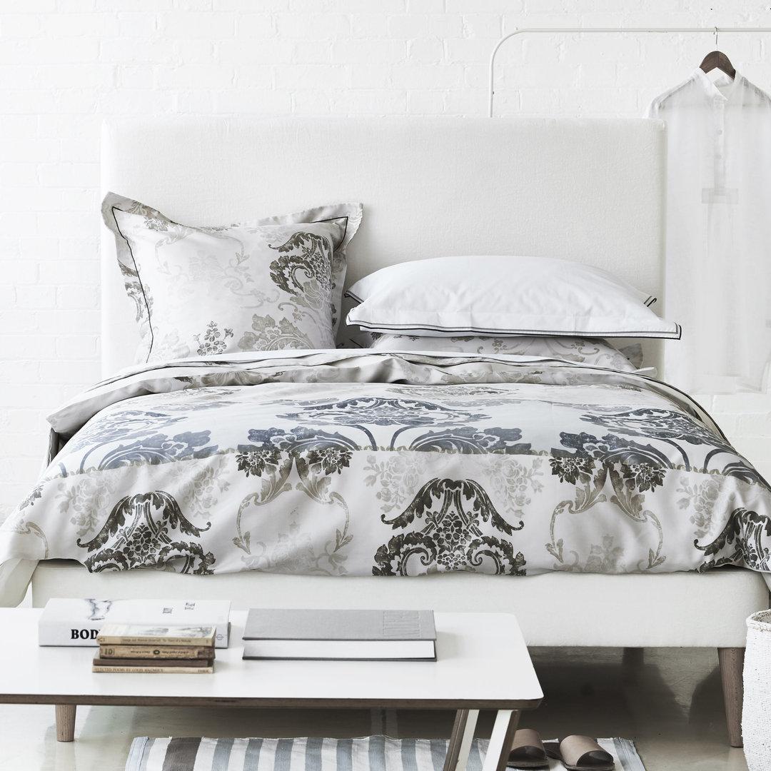 designers guild satin bettw sche kashgar natural boudoir. Black Bedroom Furniture Sets. Home Design Ideas