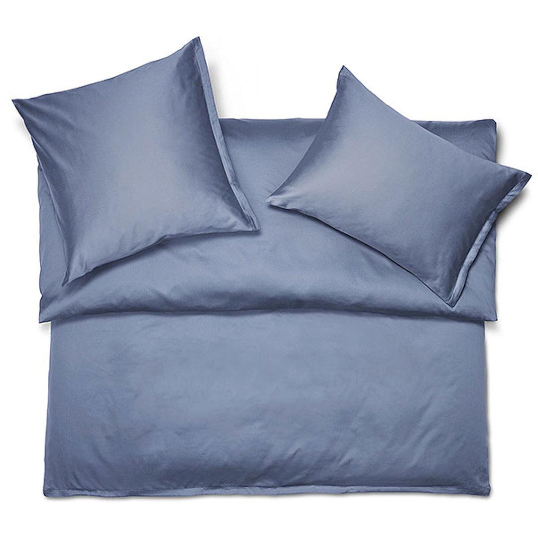 80x80 Cm Baumwolle Reißverschluß Bettwäsche Uni 135x200 Kissenbezug