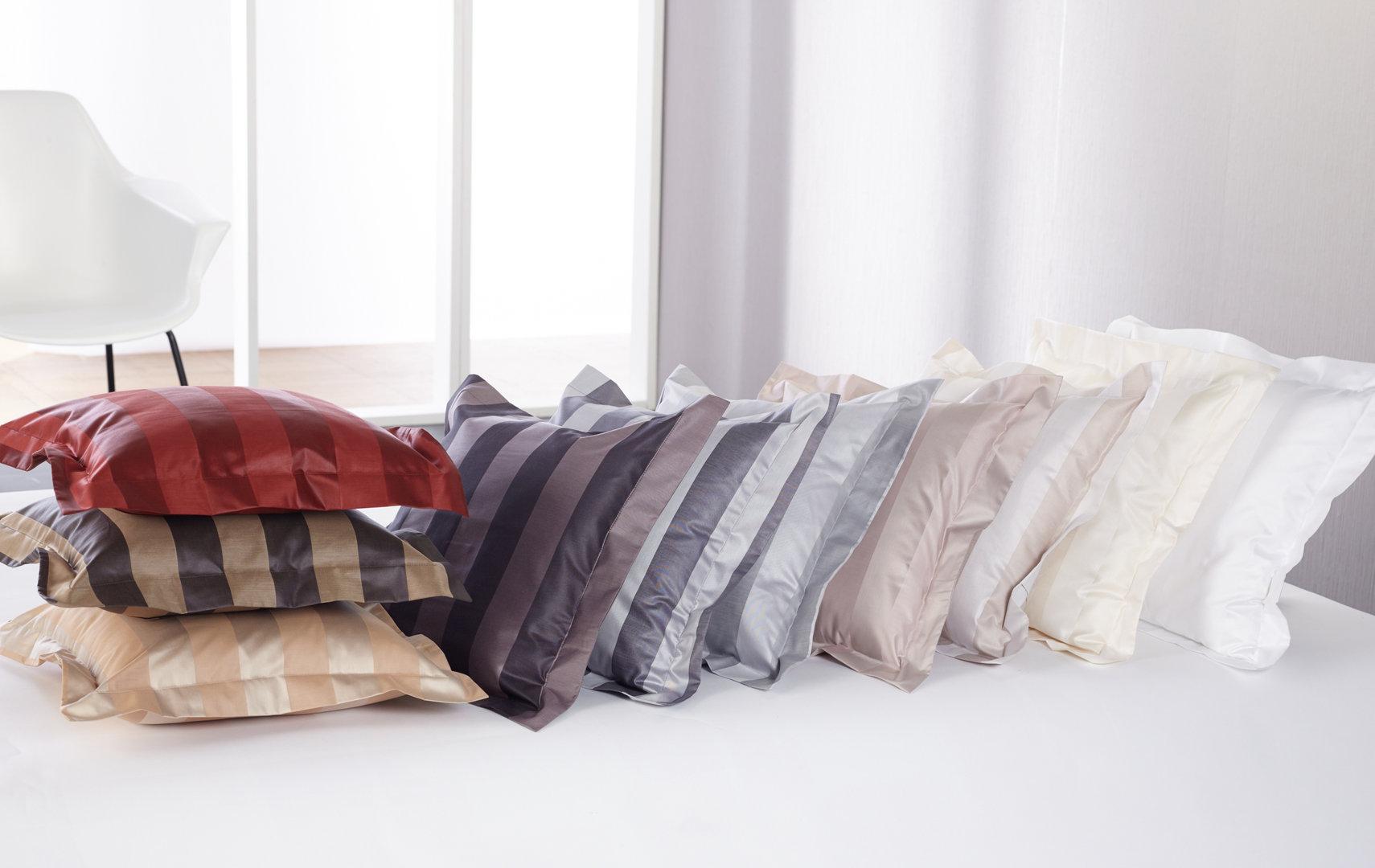 curt bauer como mako brokat streifen bettw sche sand 0104 boudoir. Black Bedroom Furniture Sets. Home Design Ideas