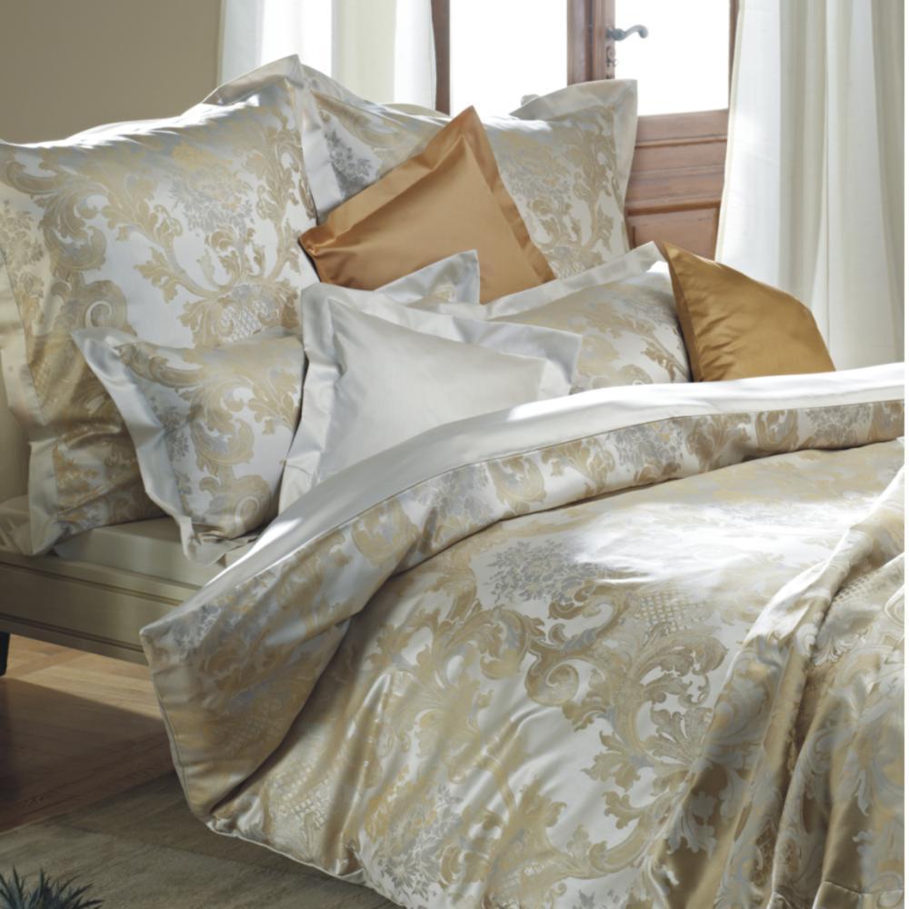 curt bauer louis xiv mako brokat damast bettw sche antikgold 1681 boudoir. Black Bedroom Furniture Sets. Home Design Ideas