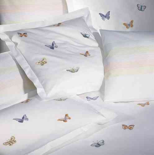 Christian Fischbacher Luxury Nights Butterfly Satin Bettwäsche