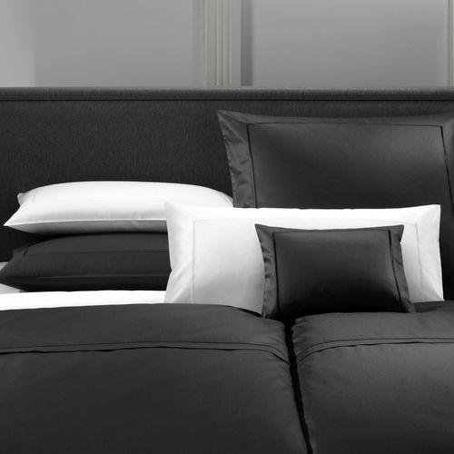 Elegante Solid Uni Mako Satin Bettwäsche Weiß 00 Boudoir
