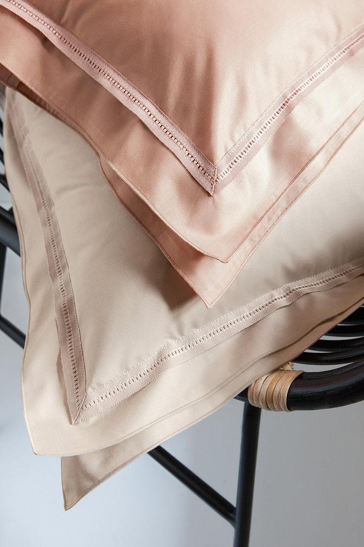 nina ricci point du jour mako satin bettw sche uni boudoir. Black Bedroom Furniture Sets. Home Design Ideas