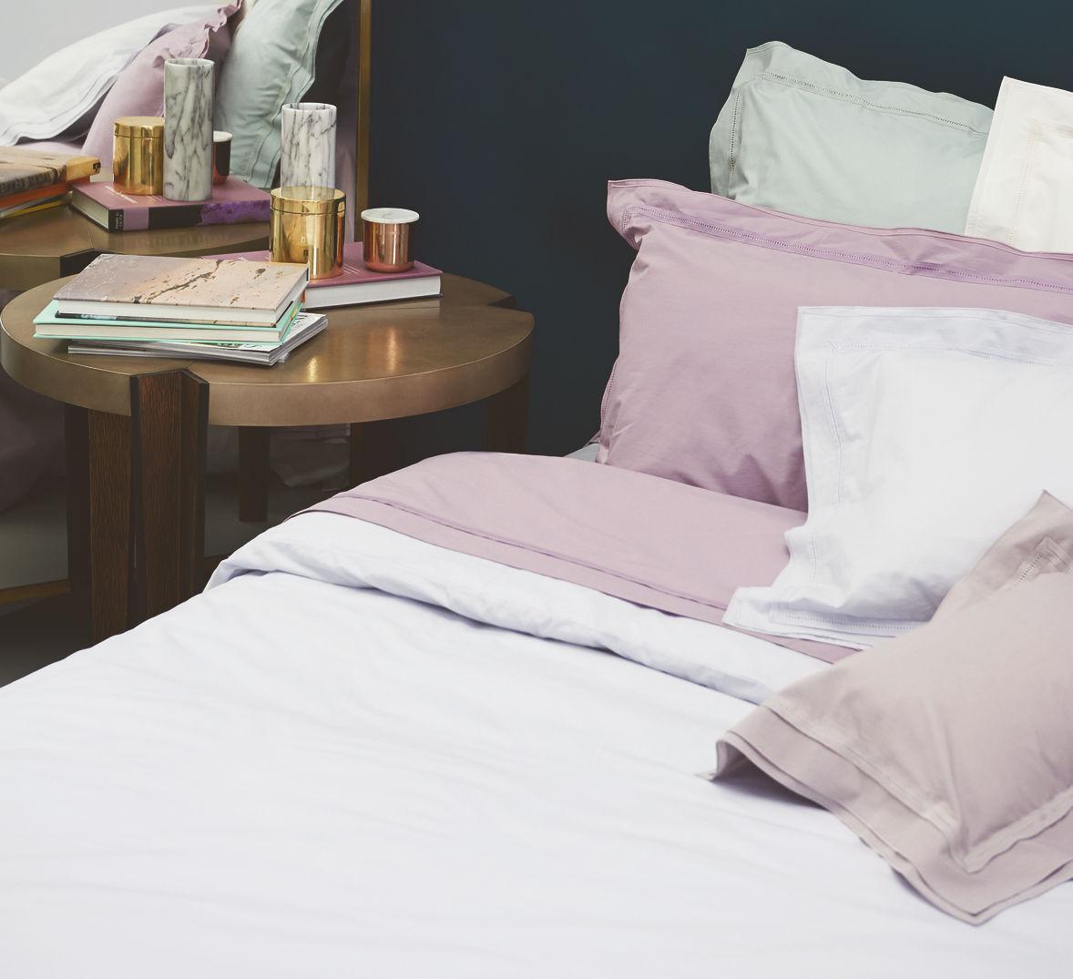 nina ricci point du jour satin spannbettlaken boudoir. Black Bedroom Furniture Sets. Home Design Ideas