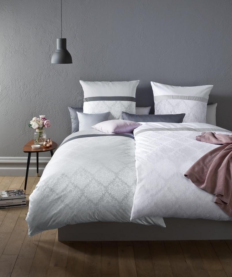 fleuresse z rich mako damast bettw sche wei 10 boudoir. Black Bedroom Furniture Sets. Home Design Ideas