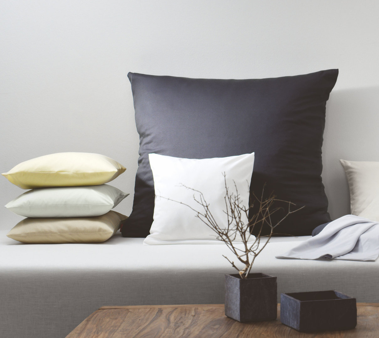 fleuresse uni colours interlock jersey bettw sche boudoir. Black Bedroom Furniture Sets. Home Design Ideas