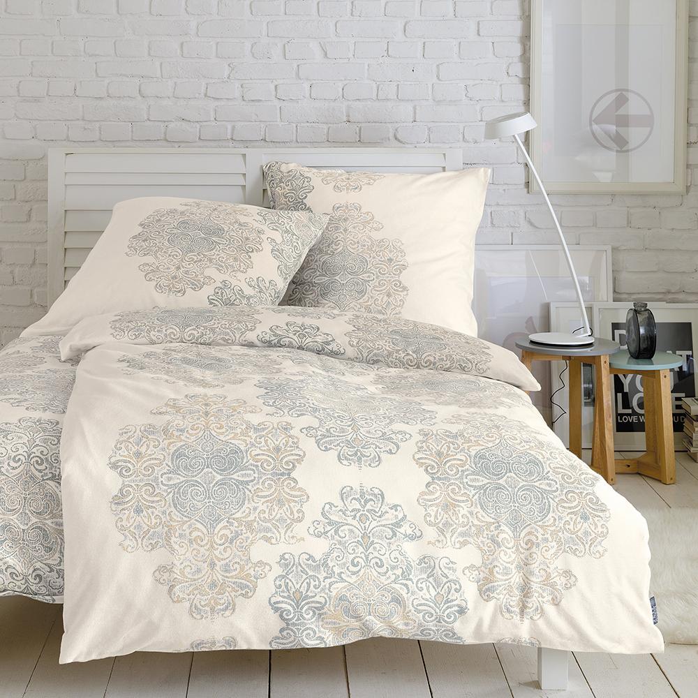 ibena zeitgeist fein flanell bettw sche 135x220 boudoir. Black Bedroom Furniture Sets. Home Design Ideas