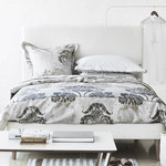 Designers Guild Satin Bettwäsche Kashgar Natural