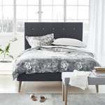 Designers Guild Satin Bettwäsche Damasco Graphit