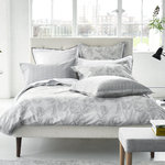 Designers Guild Satin Bettwäsche Fontainebeau Silver