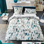 Designers Guild Perkal Bettwäsche Quill Duck Egg White