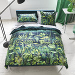 Designers Guild Satin Bettwäsche Arjuna Leaf