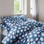 Elegante Comfort Satin Bettwäsche Play Laps Smoky Blue 09