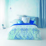 Fleuresse Bed Art S Mako Satin Bettwäsche Deep Blue 2