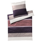 Joop Mako Satin Bettwäsche Mood Purple 01 135x200+80x80
