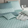 Joop Mako Satin Bettwäsche Cornflower Double Aqua Foam 44 240x220+80x80