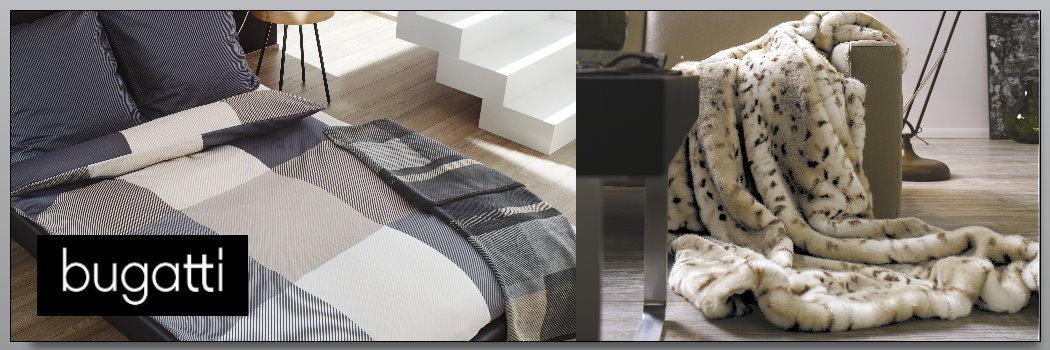 Bugatti Home Bettwäsche Decken Boudoir